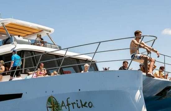 Excursión en catamarán por la tarde en Gran Canaria