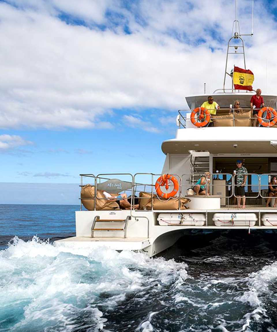 Catamarantocht in de namiddag Gran Canaria