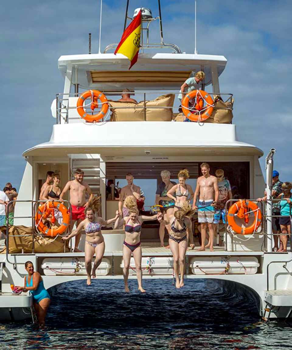 Katamaran Mittags Fun Tour - Catamaran Midday Fun Cruise Gran Canaria