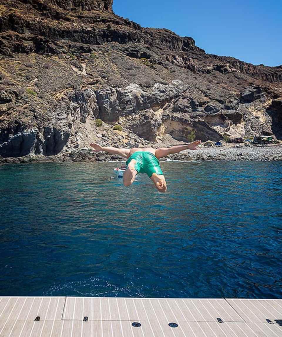 Excursión en catamarán al mediodía en Gran Canaria