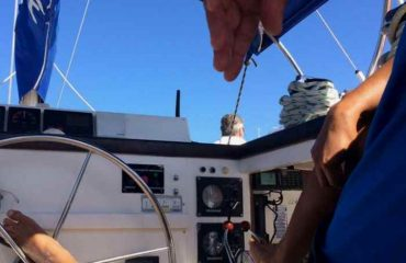 Morning Catamaran