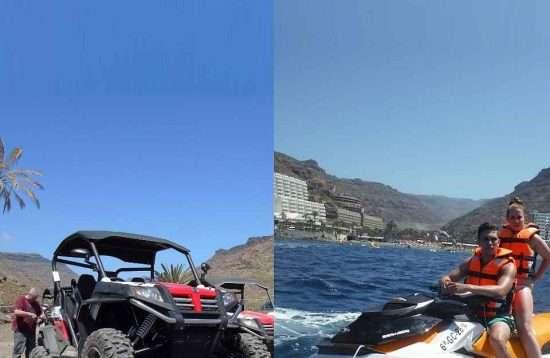 Buggy meets JetSki Gran Canaria
