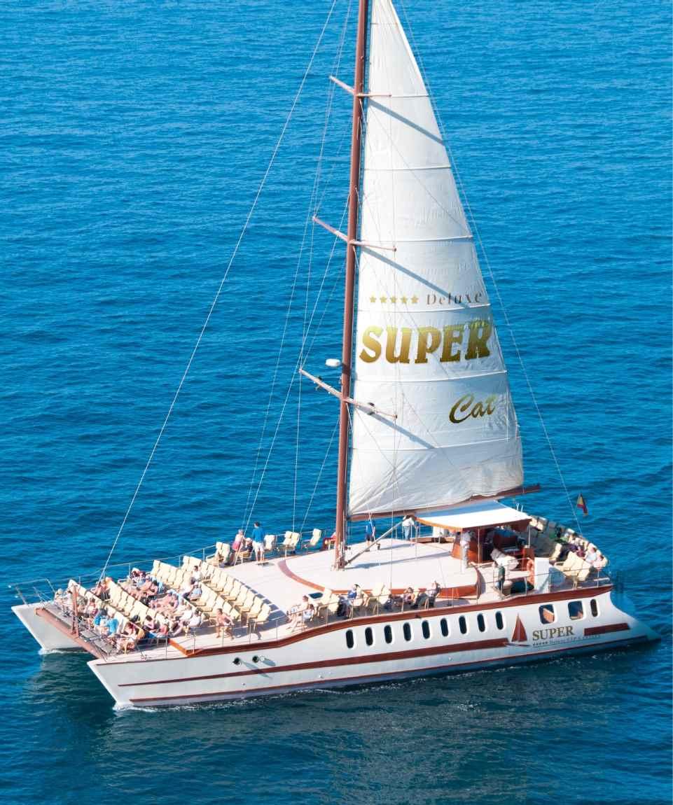 Catamaran Cruise - Katamaran Tagestour Gran Canaria