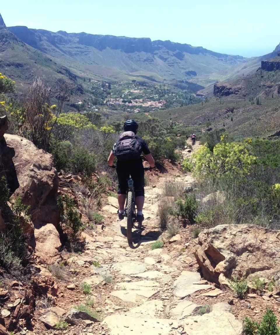 Cruz Grande Mountainbike Tour Gran Canaria