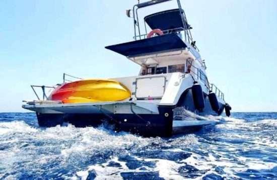 Yacht Ausflug Puerto Rico Gran Canaria