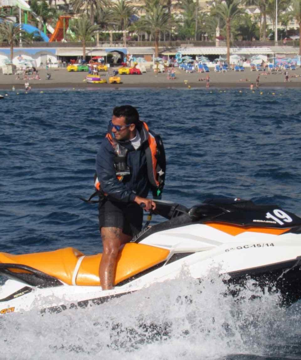 Quad meets JetSki Gran Canaria