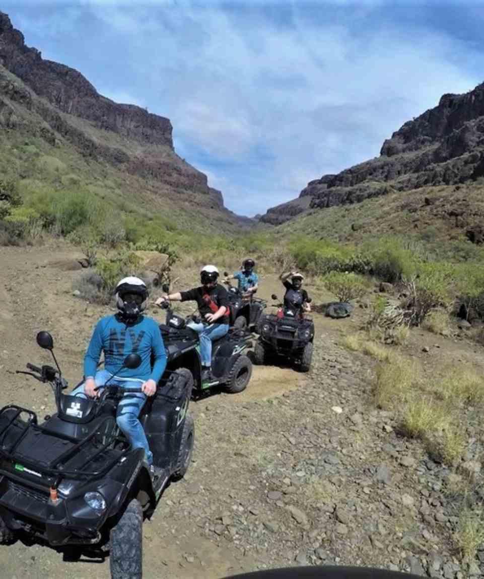 Off-road Quad Tour Gran Canaria