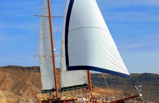 Excursie met zeilboot Gran Canaria