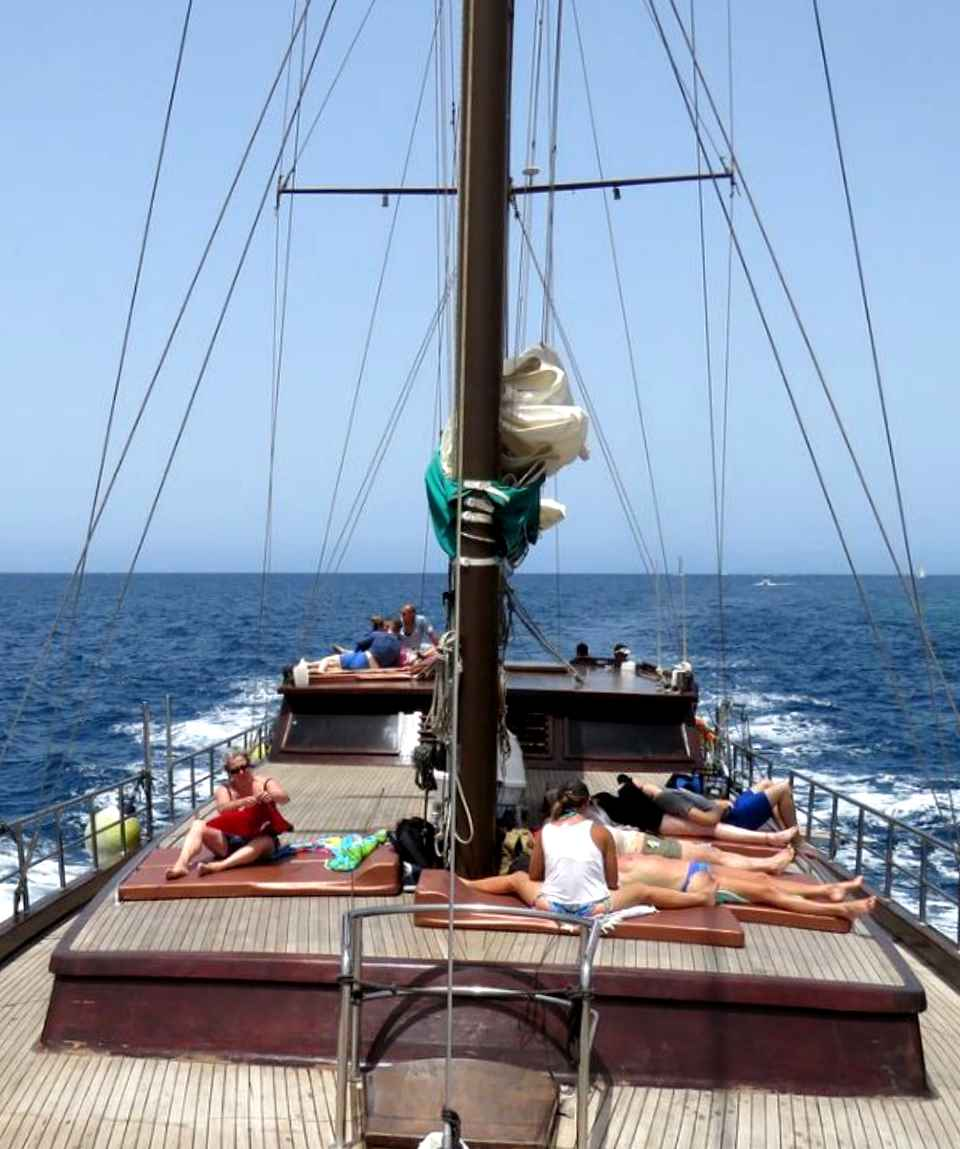 Paseo en velero Gran Canaria