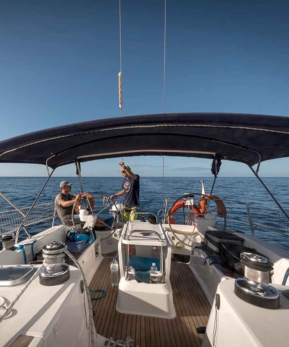Segelboot Ausflug Puerto de Mogan Gran Canaria