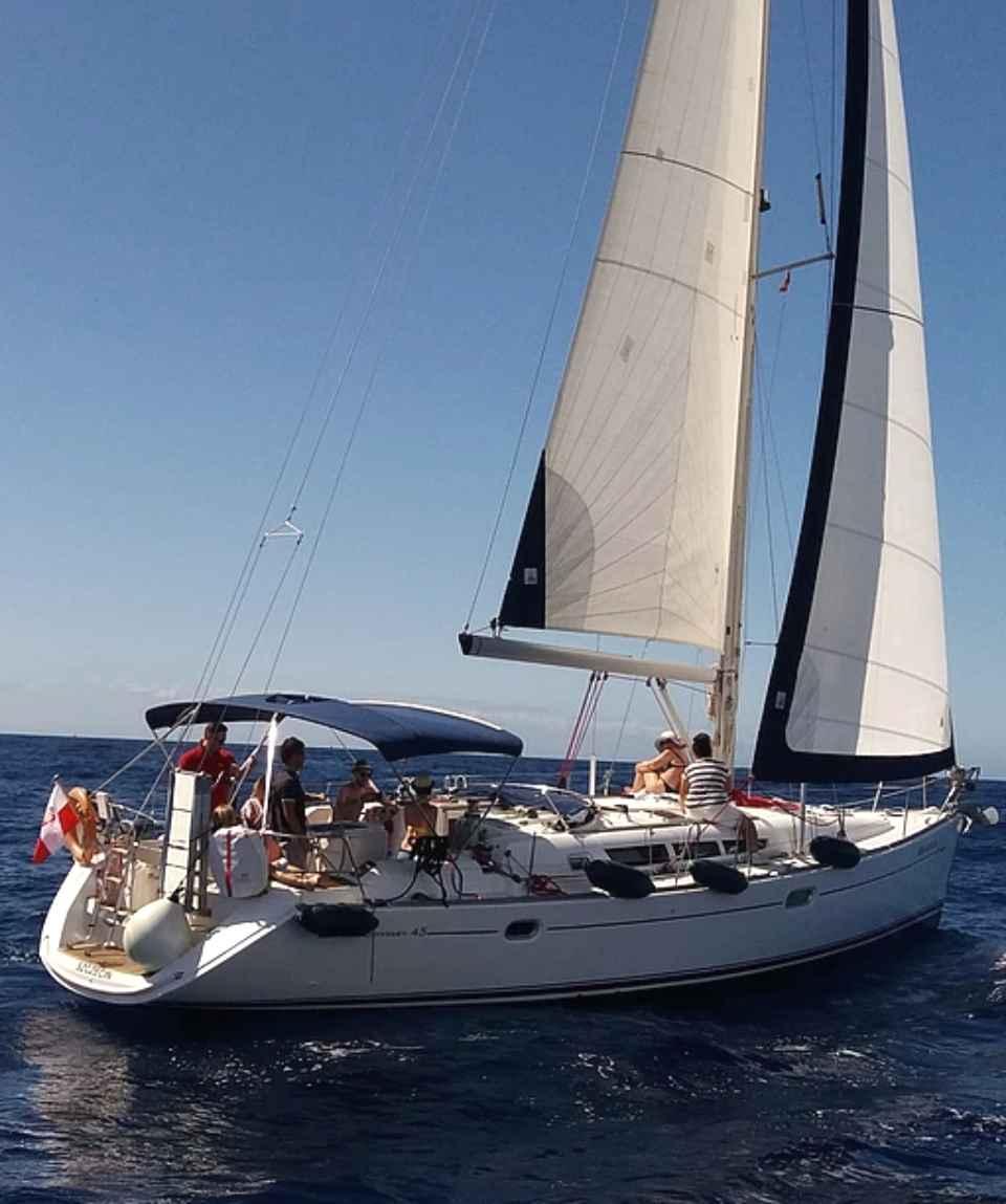 Excursión en velero Puerto de Mogan Gran Canaria