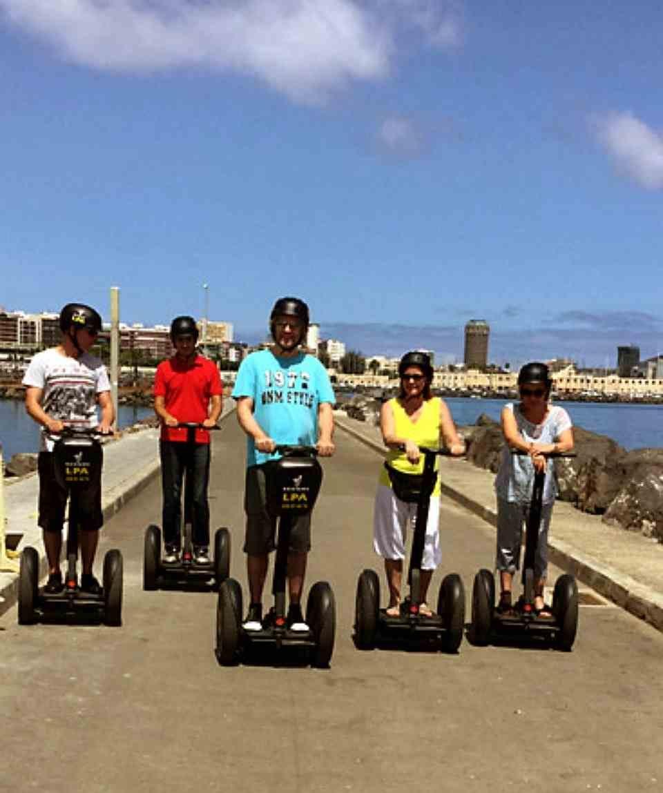 Tour en Segway en Las Palmas de 2 Horas