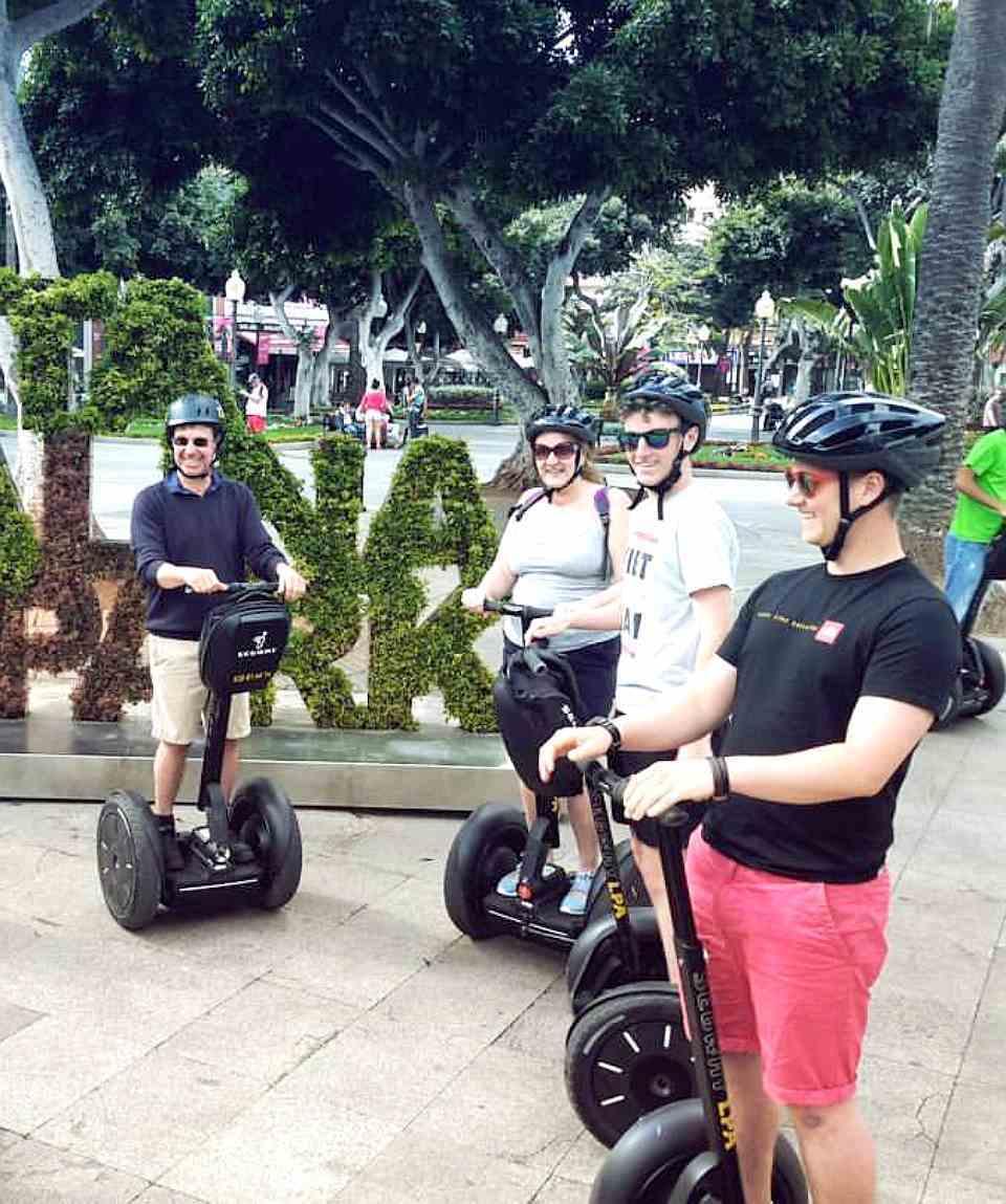 Tour en Segway en Las Palmas de 1 Hora