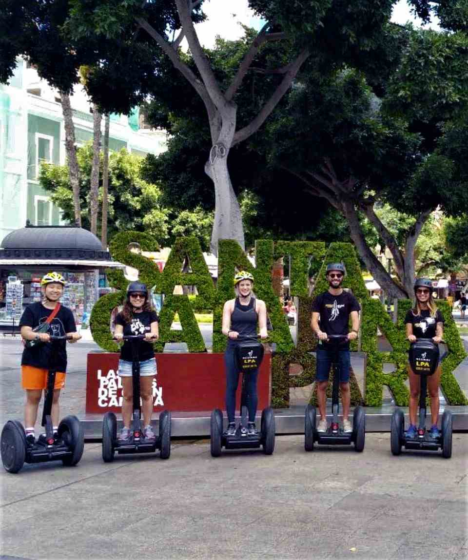 Segway & Tapas Tour Las Palmas de Gran Canaria
