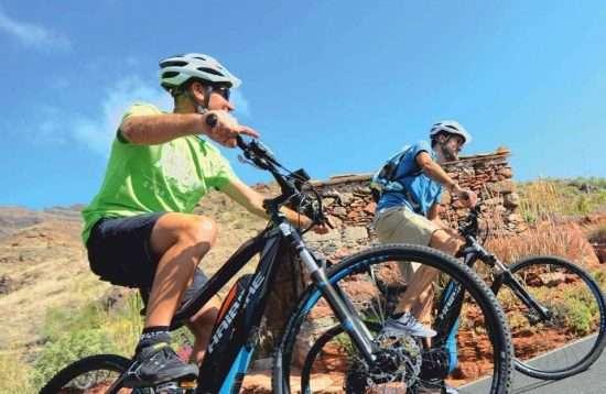 E-Bike Tour Gran Canaria Ayagaures