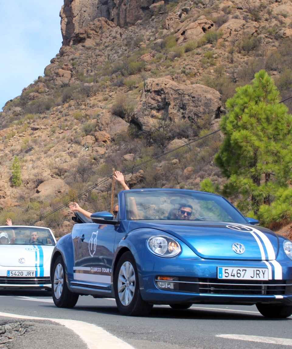 VW Käfer Cabrio Tour Gran Canaria