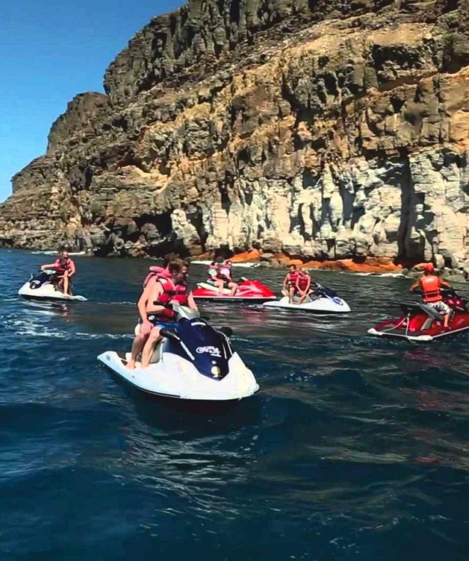 Excursión en moto de agua Gran Canaria