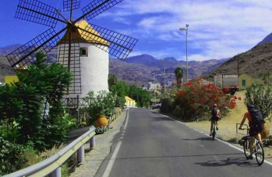 E Bike Tour National Park Gran Canaria