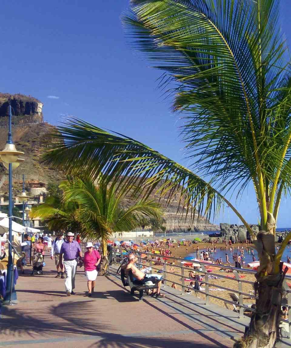 El Mercadillo de Puerto de Mogán en Gran Canaria