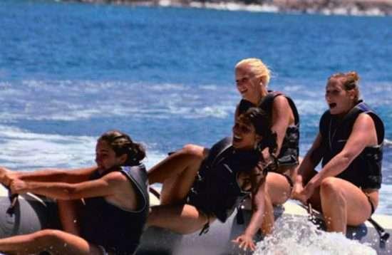 Banana Boat Wassersport Kombination Gran Canaria