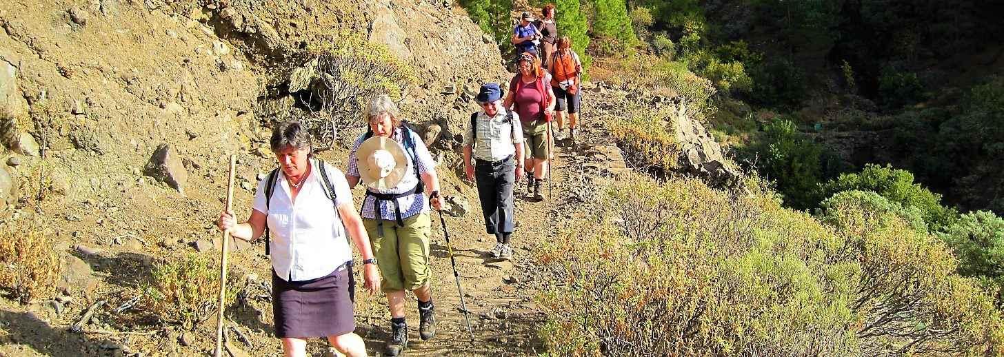 Wandelen en klimmen op Gran Canaria