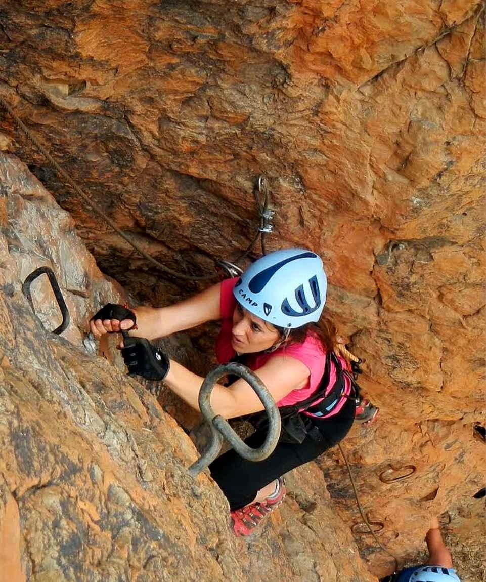 Via Ferrata Gran Canaria Climbing