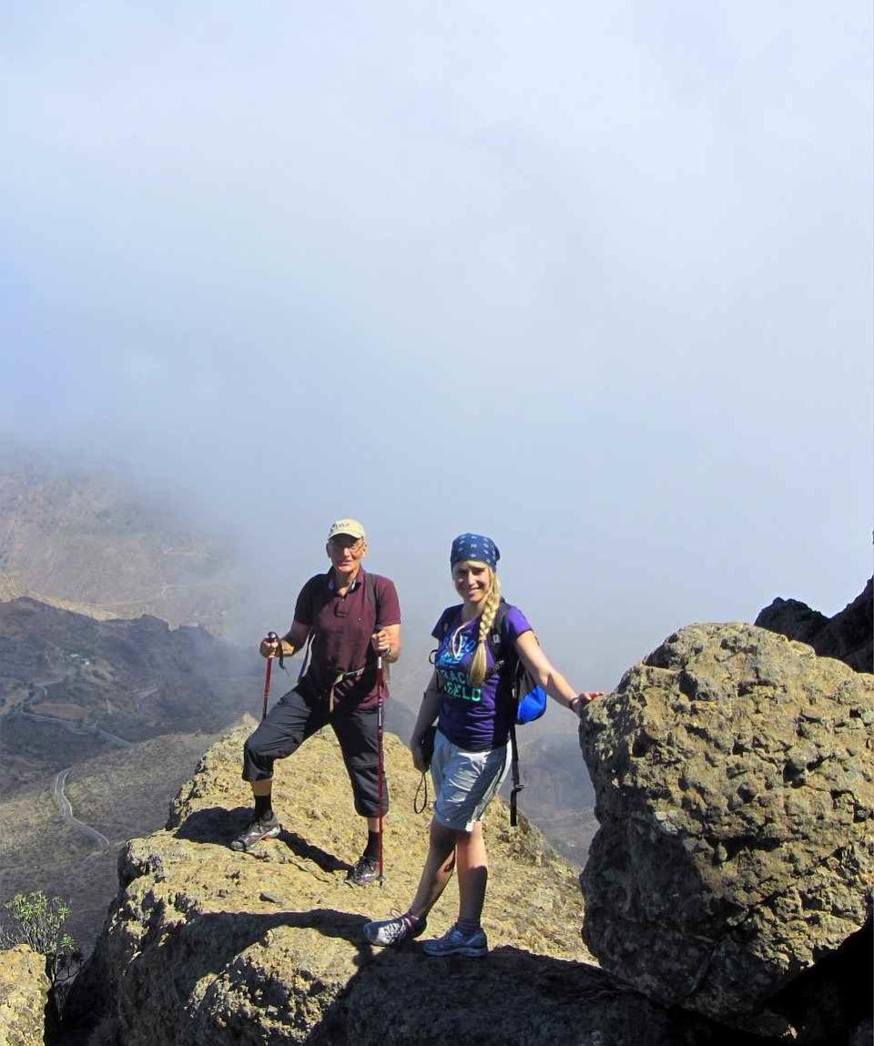 Wandern Roque Nublo Gran Canaria