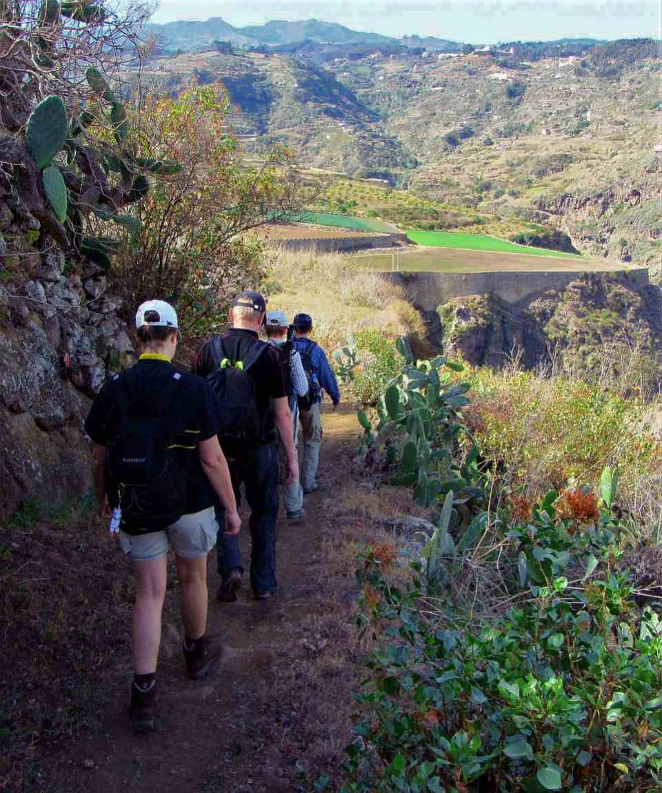 Hiking Azuaje Valley Gran Canaria