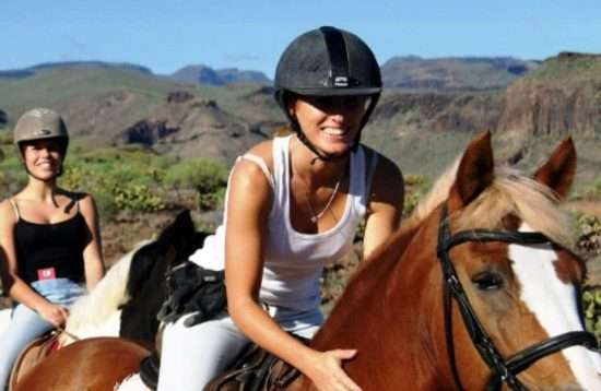 Paardrijden op Gran Canaria