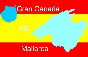 Gran Canaria vs. Mallorca - Zwei Inseln im Vergleich
