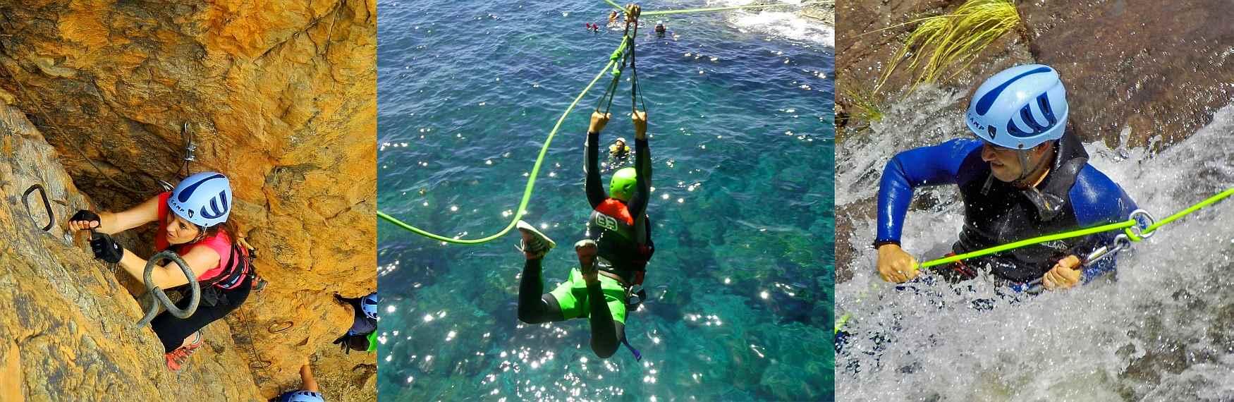 Gran Canaria Climbing - Via Ferrata - Canyoning - Coasteering
