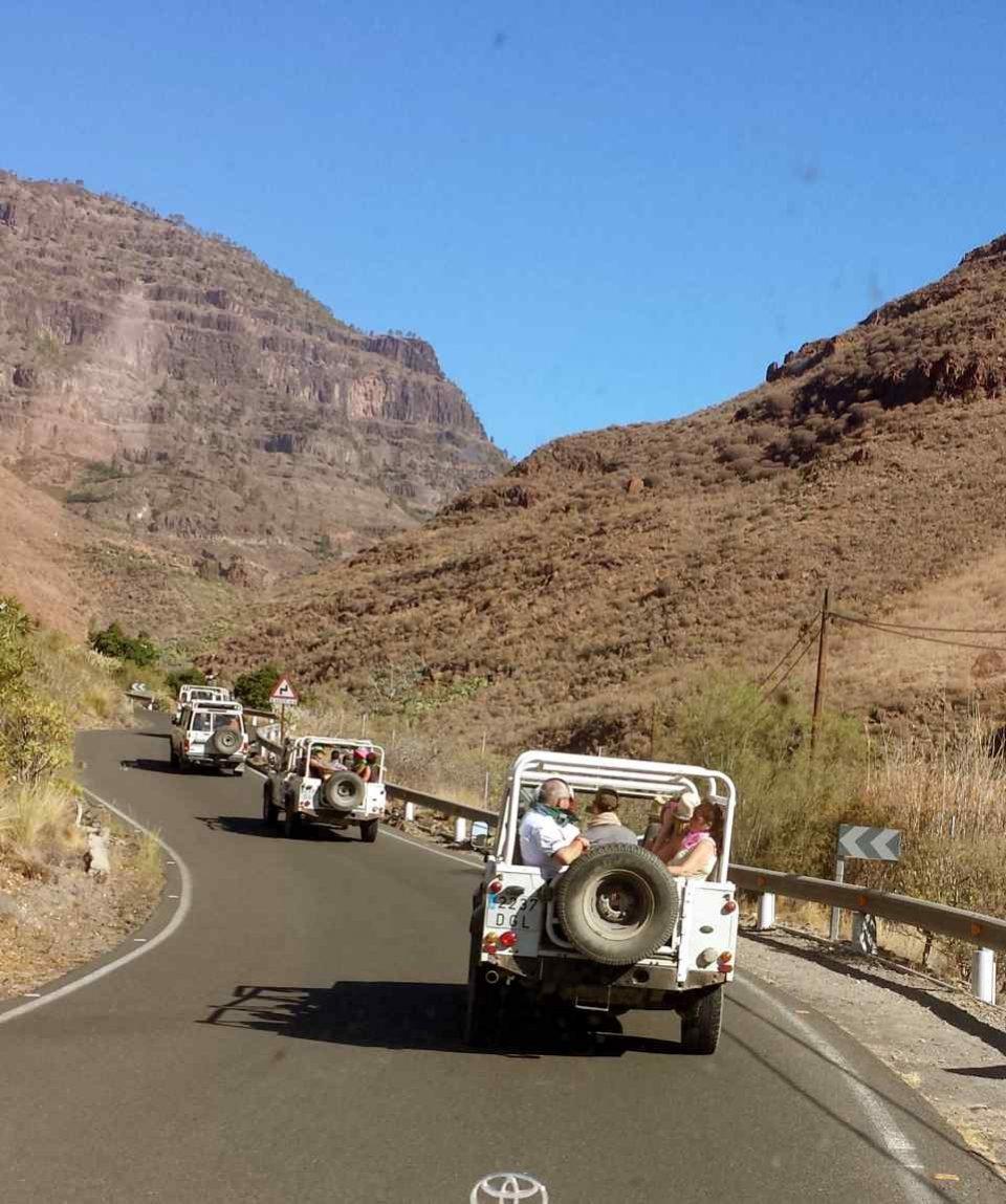 Jeeptour op Gran Canaria