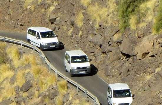 VIP minibus eiland tour Gran Canaria