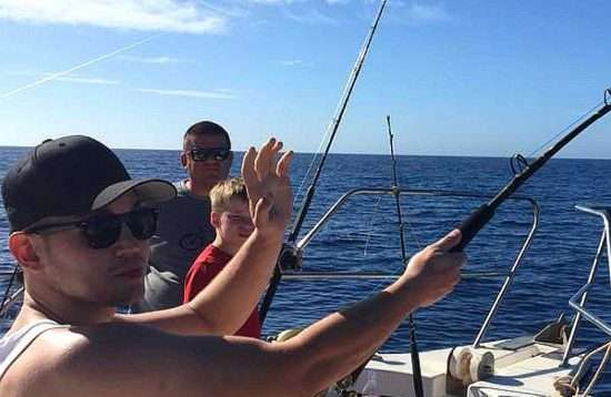 Trolling Big Game Fishing Angeln Puerto de Mogan Gran Canaria