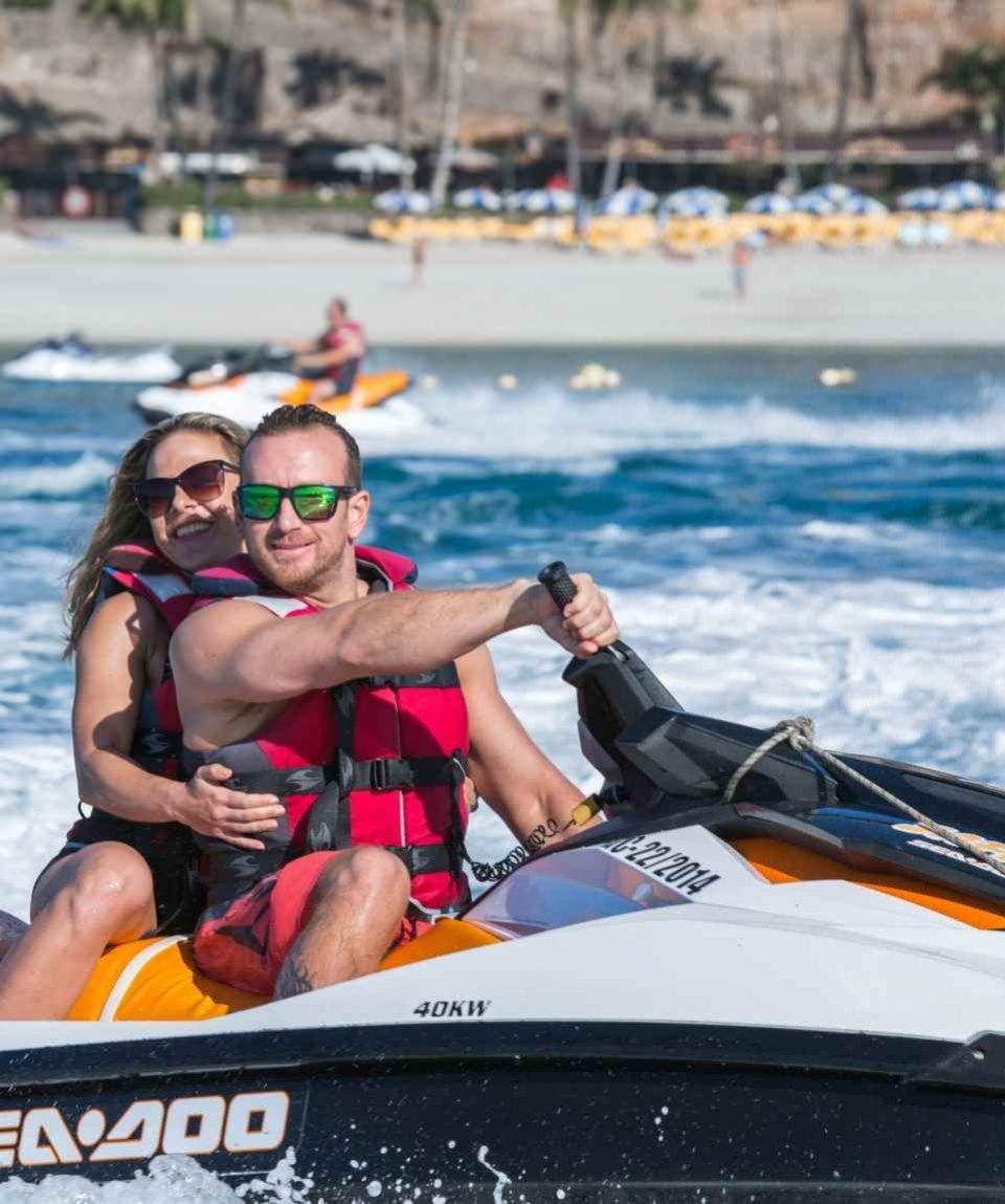 Gran Canaria - Actividades Acuaticas - Combos Descuentos Parasailing & JetSki