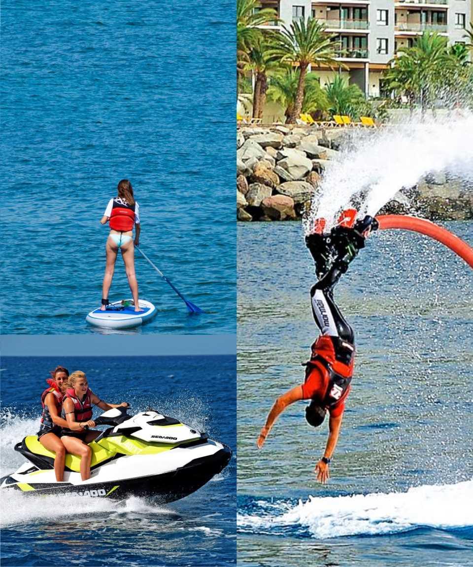 Gran Canaria Wassersport Sparpaket Flyboard & mehr