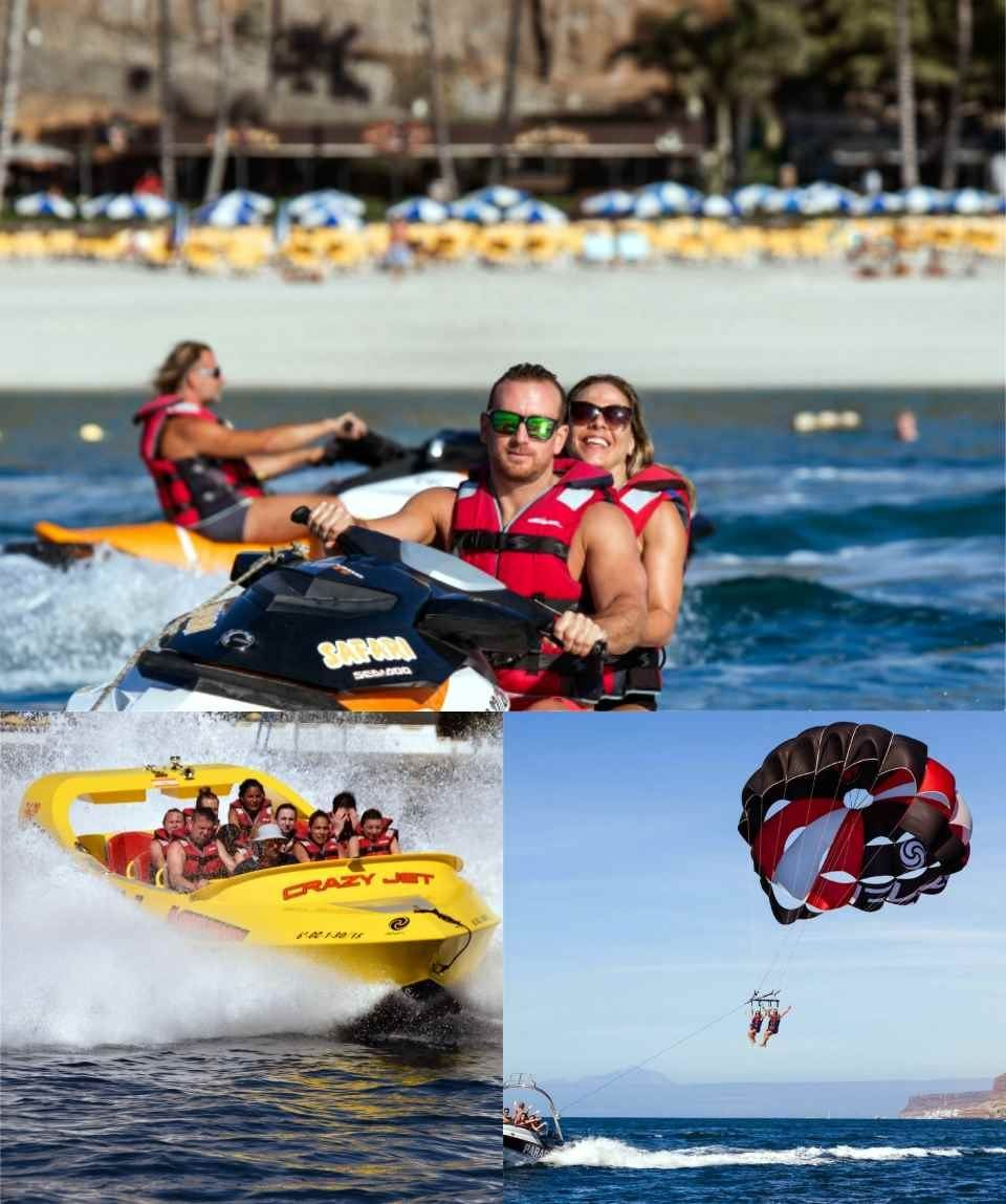 Gran Canaria Water Sports Saving Package JetSki Rental & more