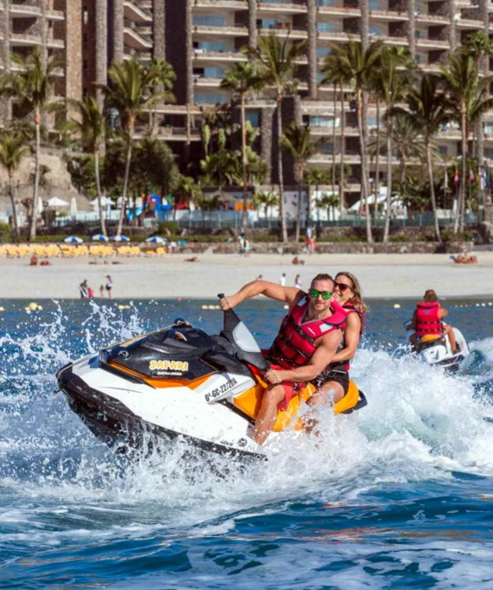Gran Canaria Wassersport Sparpaket JetSki mieten & mehr