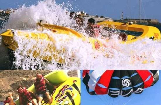 Gran Canaria Water Sports Combi: Crazy Jet Boat & more