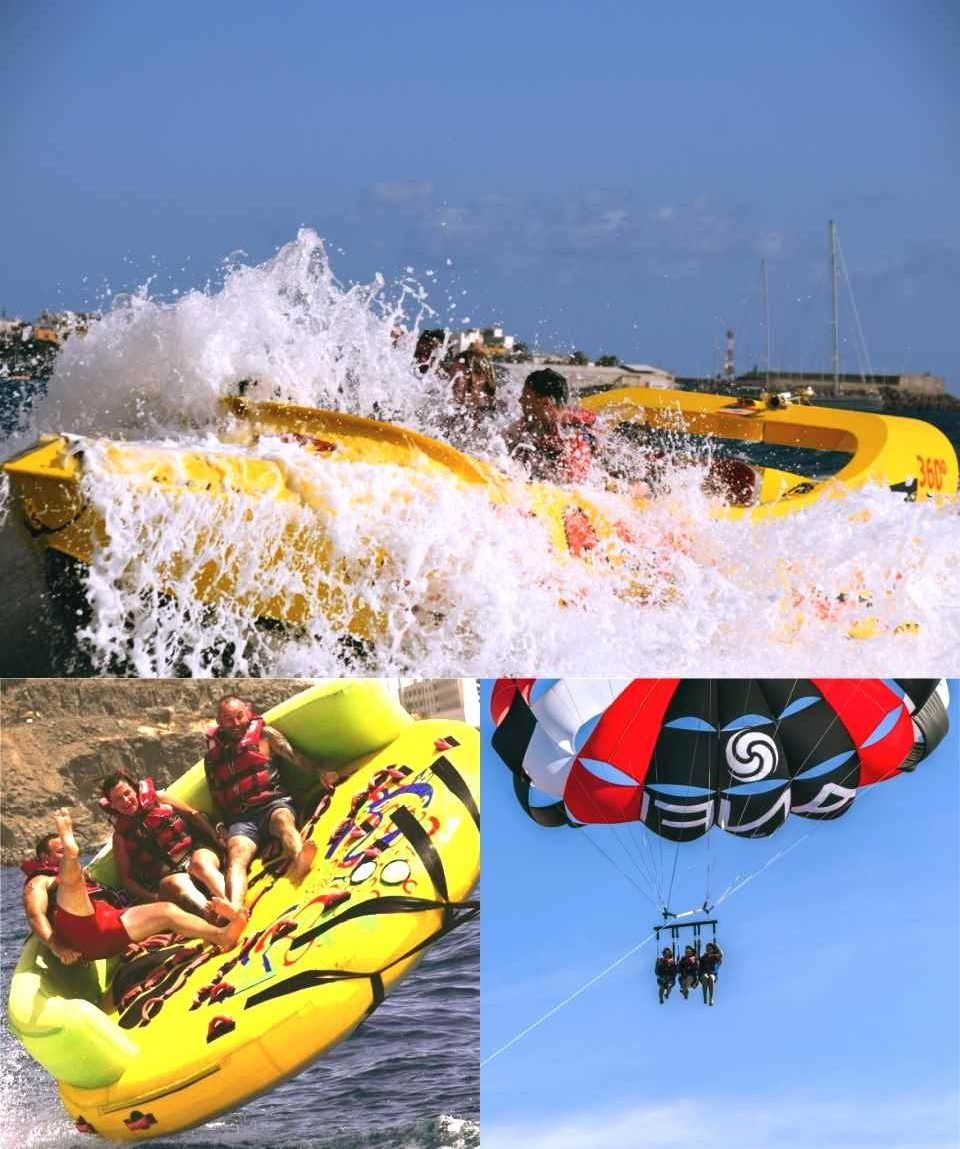 Gran Canaria - Water Sports Saving Package Crazy Jet Boat & more