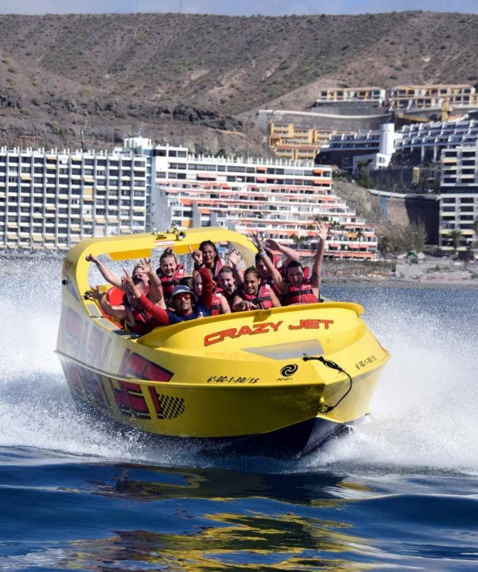 Gran Canaria Wassersport Sparpaket Crazy Jet Boot & mehr