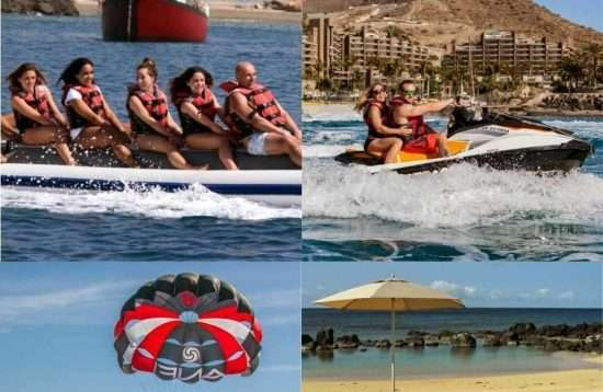 Gran Canaria Water Sports Saving Package Banana Boat & more
