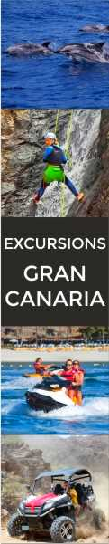 CANCO Gran Canaria - Excursions and Sights