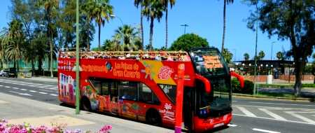 Hop On Hop Off Busse in Las Palmas de Gran Canaria